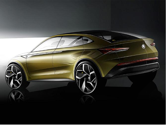 Po silnicích se bude elektromobil Škoda podle plánů prohánět od roku 2020.