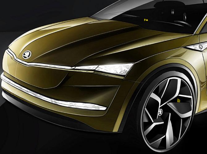 Škoda Auto se s elektromobilem představí na šanghajském autosalonu.